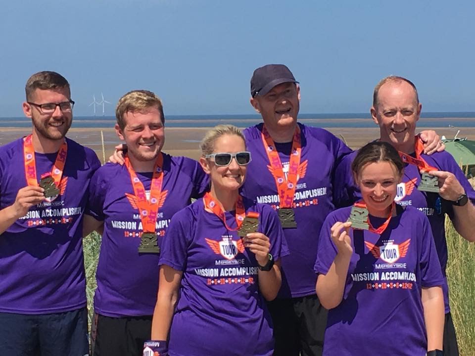 Mission Accomplished for the Striders and their Tour of Merseyside