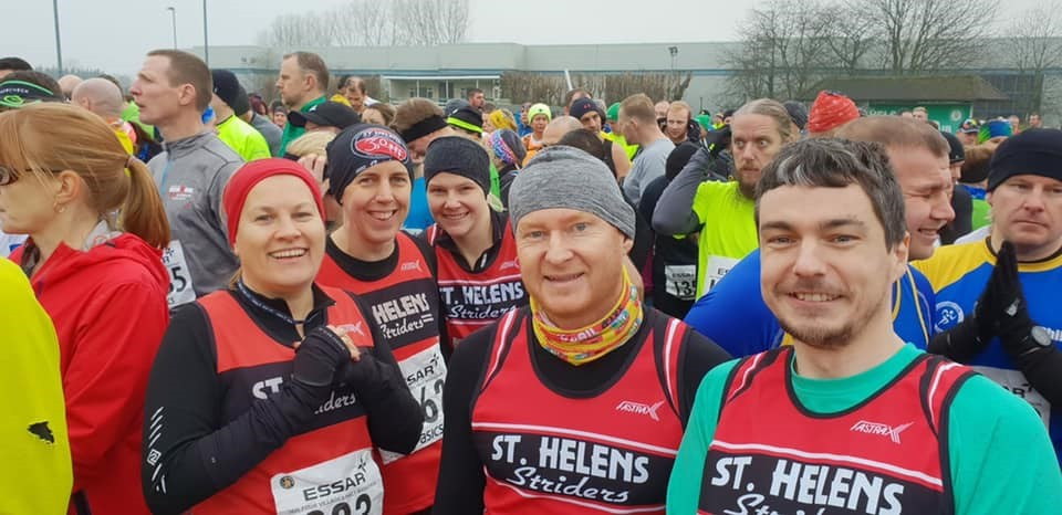 St Helens Striders - 22nd January 2019