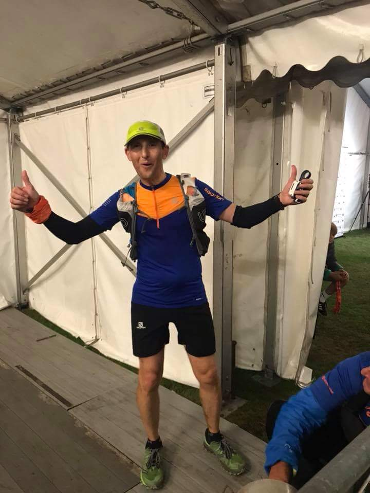 Kevin Brennan looking fresh after completing a 50 mile run