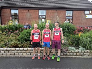 Chris Reid, Les Abbott and Alex Abbott were a successful team at the Elswick 10 mile race