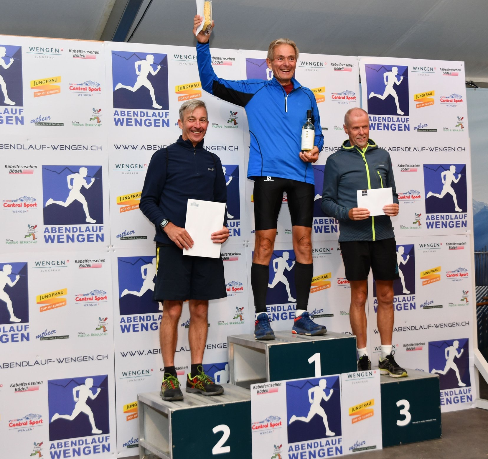 Les Abbott and his Remarkable Success Story in the Abendlauf Wengen 7.7k