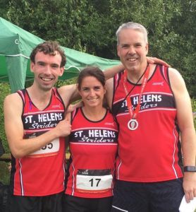 Team Prize; From left to right with Jon-Jo Doherty, Ann Johnson and Mark Fillingham